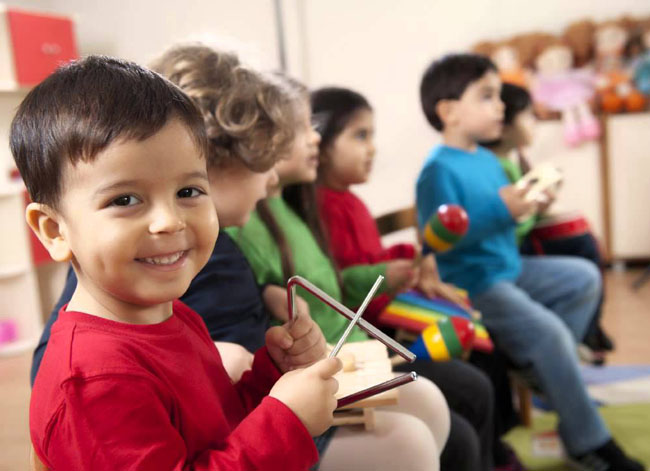 The Benefits of Music on Children