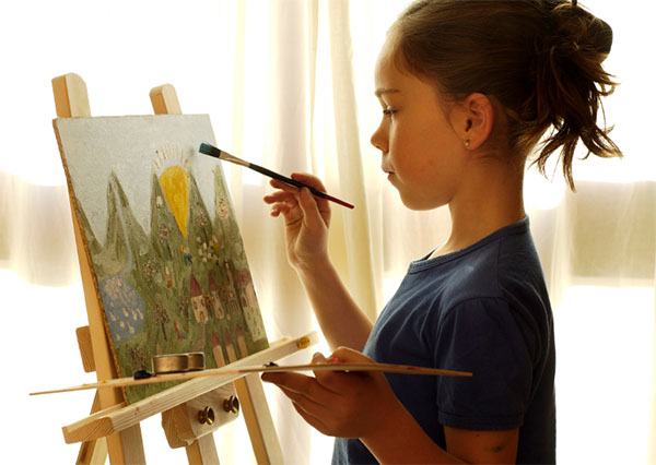How To Develop Your Kid's Interest in Art?