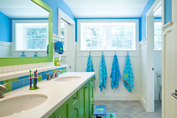 What Every Kid-Friendly Bathroom Needs