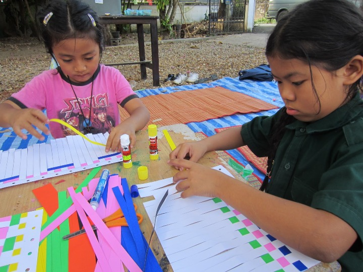 Therapeutic Weaving for Kids